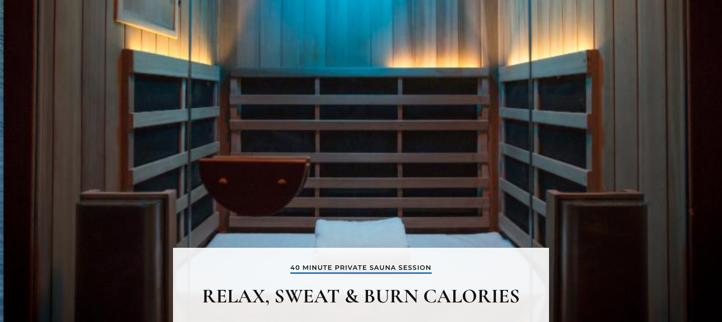 Pūr Sweat - Infrared Sauna Studio